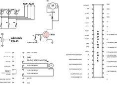 Filamake filament winder  Connection diagram