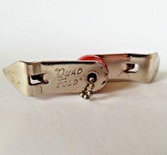 Vintage Vaughan Quad Fold Bottle Can Opener Key Chain Made In USA #VaughanCo Can Opener, Key Chain, Quad, Bottle Opener, Vintage Antiques, Canning, Retro, Home Canning, Retro Illustration