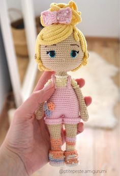 Crochet Doll Pattern, Crochet Dolls, Knit Crochet, Crochet Patterns, Crochet Hats, Crochet Fairy, Kawaii Crochet, Crochet Doll Clothes, Fairy Dolls