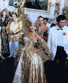 Tim Dalton as Edmund Junot in the tv mini - series SINS 1986 with Joan Collins as Helene.