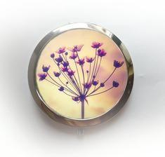 Handmade pocket mirror - Handmade zrcátko #handmade #pocketmirror #accessories #modrykonik