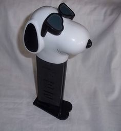 Snoopy Joe Cool Large Pez Dispenser Plays Snoopy Theme Song