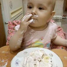 Праздничный тортик был жестоко забракован. Куда ему до корочки ржаного хлеба... 😂😂😂#детицветыжизни #детисчастье #деньрождения