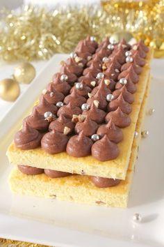 Bûche de Noël Chocolat Noisette