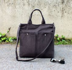 Mens Laptop Bags – Street Multi Bag in Brown - UNISEX – a unique product by bayanhippo on DaWanda