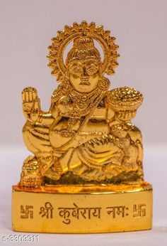Pooja Needs Brass Kuber Idol Material: Brass Dimensions: Free size Description: It Has 1 Piece Of Brass Kuber Idol Country of Origin: India Sizes Available: Free Size *Proof of Safe Delivery! Click to know on Safety Standards of Delivery Partners- https://ltl.sh/y_nZrAV3  Catalog Rating: ★4.1 (5424)  Catalog Name: Classy Elite Unique Pooja Decors Vol 1 CatalogID_457795 C128-SC1315 Code: 851-3309911-