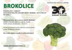 SRPEN - Brokolice - 30ti denní výzva Health Tips, Herbs, Relax, Catalog, Herb, Healthy Lifestyle Tips, Medicinal Plants