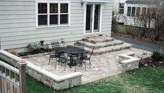 Patio Design Ideas for Small Patio Patio Design Ideas - like these images of simple, small patios - nothing too contrived since it wouldn't go with the house.