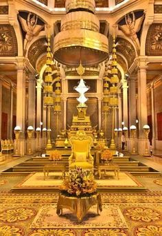 Throne hall in Phnom Penh