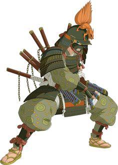 Naruto (Samurai) render [Ninja Storm Revolution] by on DeviantArt Naruto Shippuden Sasuke, Anime Naruto, Manga Anime, Naruto Art, Anime Guys, Boruto, Kakashi, Kabuto Samurai, Samurai Armor