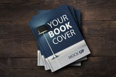 New price!-Book Cover Mock-UP by attraax on Creative Market
