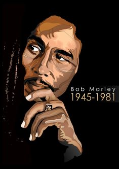 Bob Marley - King of Reggae Bob Marley Kunst, Bob Marley Art, Reggae Bob Marley, Bob Marley Quotes, Image Bob Marley, Arte Do Hip Hop, Hip Hop Art, Fotos Do Bob Marley, Foto Pop Art