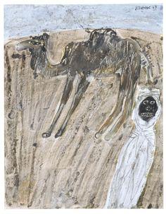 thunderstruck9:Jean Dubuffet (French, 1901-1985), Chameau et...