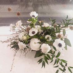 Leftover flower arrangement by @michaela_heylook