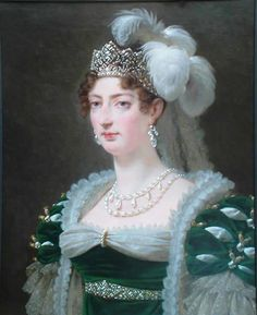 1817 Duchesse d'Angoulême by Antoine-Jean Gros (Bowes Museum, Barnard Castle, County Durham UK) | Grand Ladies | gogm