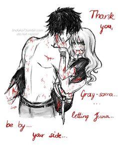 Fairy tail// Juvia and Gray