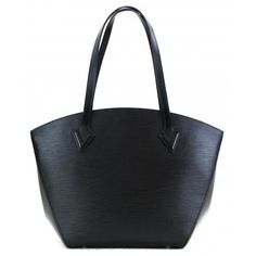8ef3d2d652c Louis Vuitton Black Epi Leather Saint Jacques Tote Bag. Mosh Posh Designer  Consigner