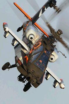 TheWorldAirForce — beautiful-lines-321: Dutch AH-64D