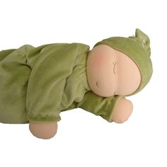 Heavy Baby, Weighted Waldorf Doll, Millet
