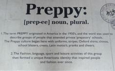 silly preppies. Just cause you go to a certain school and just cause you dress a certain way doesn't make you all-that.