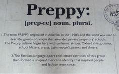 Preppy :)