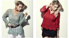 roupas de croche modelos de blusinhas para o inverno