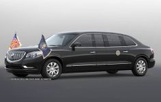 2017 Buick Presidential Limousine concept