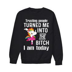 Humor Mom Unicorn Outfit, Unicorn Art, Unicorn Gifts, Rainbow Unicorn, Trusting People, Family Print, Funny Sweatshirts, Graphic Sweatshirt, T Shirt