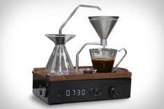 Having a warm cup of coffee sitting on your nightstand the moment your eyes open sounds more like a dream than a wake-up call. The Barisieur Coffee Alarm Clock lures you into consciousness with the aroma of a fresh brew....