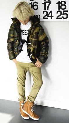 MIX & Match justbymanon | kindermode | winter 2013 2014 Styling | Les Artists shirt | moodstreet jacket | mijn kinderkleding pants | blackst...