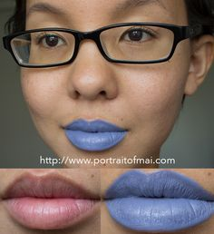 Limnit Lipsticks New Collection/Formula Swatches and Review :: Flower Maze
