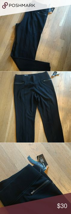 INC Black Trousers. NWT. Size 10 Curvy fit black trousers by INC. These are new with tags. So comfy. Rayon and spandex blend. Size 10 INC International Concepts Pants Trousers