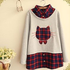 Top Japan Fashion & Korea Fashion & Asian Fashion Clothes And Accessories. Kawaii Fashion, Cute Fashion, Fashion Outfits, Womens Fashion, Fashion Styles, Fall Fashion, Kawaii Shirts, Kawaii Clothes, Kawaii Outfit