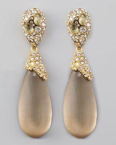 Alexis Bittar Double Drop Lucite Earrings