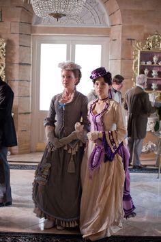 the-garden-of-delights:  Olivia Hallinan as Jocelin Brookmire and Elaine Cassidy as Katherine Glendenning inThe Paradise (TV Series, 2012)...