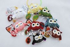 Anime Cell Phone Charms   ... Mobile Phone Strap/Phone Strap/Cell Strap/owl charm(China (Mainland Owl Charms, Charmed, Japanese, China, Christmas Ornaments, Holiday Decor, Anime, Japanese Language, Christmas Jewelry