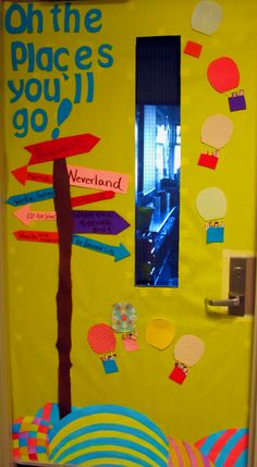 dr seuss oh the places you'll go | Oh, The Places You'll Go! | Dr. Seuss Themed Back-To-School Board