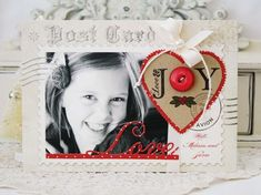 Love & Joy Photo Card by Melissa Phillips for Papertrey Ink (September 2013)