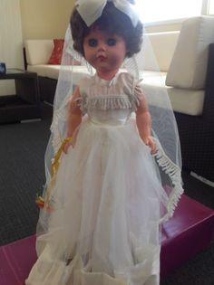 Vintage Bride Doll   Other Antiques, Art & Collectables   Gumtree Australia Brisbane South East - Wynnum   1162432498