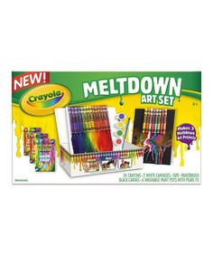 Loving this Melt Down Art Set on #zulily! #zulilyfinds