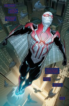 #Spiderman aka Miguel O'Hara (Earth-928)