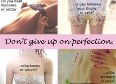Don't give up non perfction