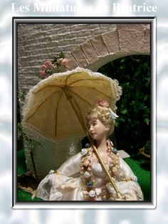 Florestine  a  dollhouse doll of the eighteenth by Beatrice5804