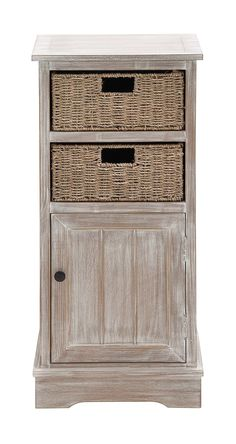 Wood 2 Basket Cabine