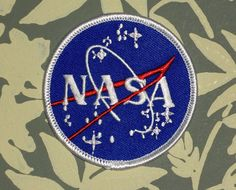 NASA IRON ON PATCH  99 CENTS!!!!