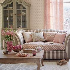 15 salas decoradas e cantinhos Românticos, delicados e ...