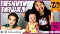 Dia feliz!! #Repost @entaoroberta with @repostapp  Olha quem chegou!!!! Fiz um vlog sobre isso!!! Vem ver! O link do canal tá na capa aqui do Insta.  #babyalivecomilona #babyalive #babyalivesnackinsara #mulata #linda #Beyoncé #Alice #Morretes #youtuberskids #youtuberkids #youtubermirim #youtubersmirins #vlogueiramirim #vlogger