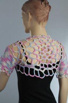 Crochet Bolero de encogimiento de hombros de por levintovich