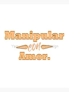 """""""Handle with love (Spanish) """" Mounted Print by YamyMorrell   Redbubble Print Design, Graphic Design, Top Artists, Spanish, Finding Yourself, Typography, Handle, Canvas Prints, Love"""