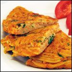 From the International Omelettes Breakfast Recipe Collection. This old-school Italian frittata omelette is a fun change of pace from your usual omelettes.  It's especially popular with spaghetti-loving kids who often call it Spaghetti Pie.